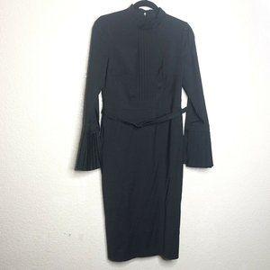 BGL Straight Silhouette Dress with a Cut-Off Waist